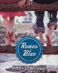 "Phoebe Stone's newest book is ""Romeo Blue"" to be published June 1, 2013"